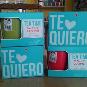 Taza + té gourmet